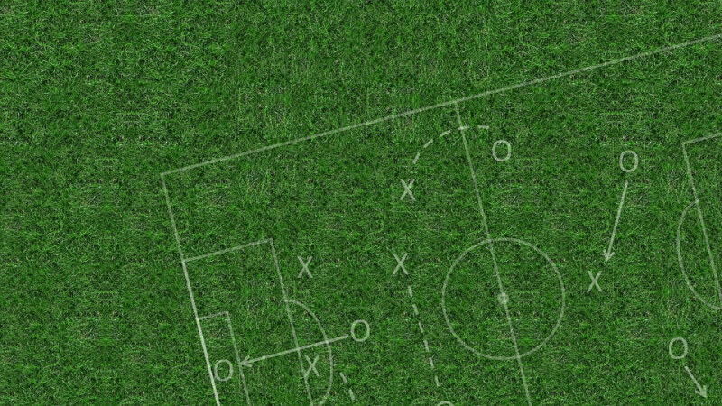 Football tactics board player tracking