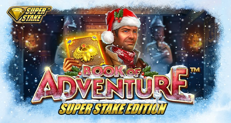 Book of Adventure Christmas™ Super Stake Edition by Stakelogic