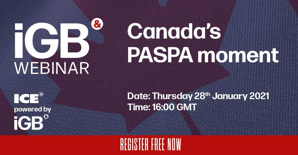 Canada's PASPA moment