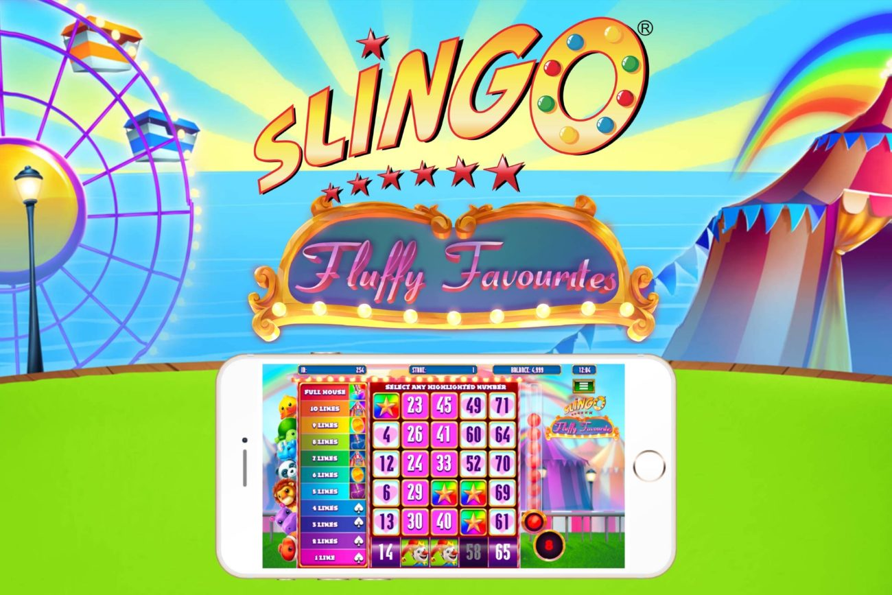 Slingo online slot game by Gaming Realms