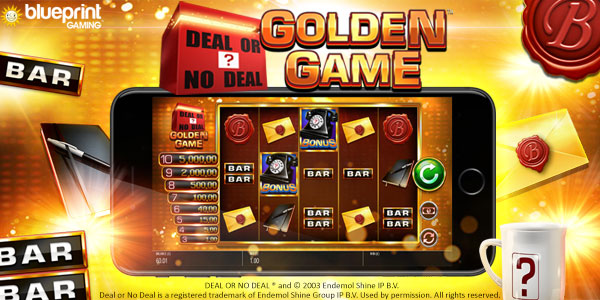 Deal or No Deal™: Golden Game by Blueprint Gaming