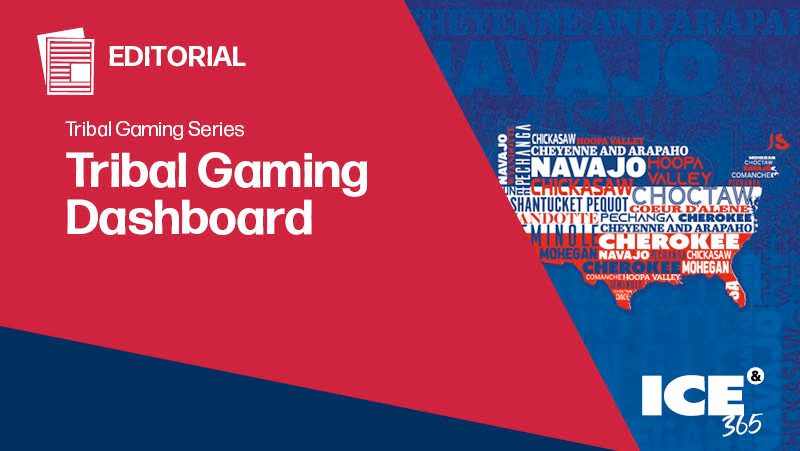 ICE 365 Tribal Gaming Dashboard