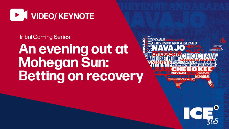 ICE 365 An evening out at Mohegan Sun: Betting on recovery