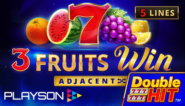 3 Fruits Win: Double Hit™ by Playson