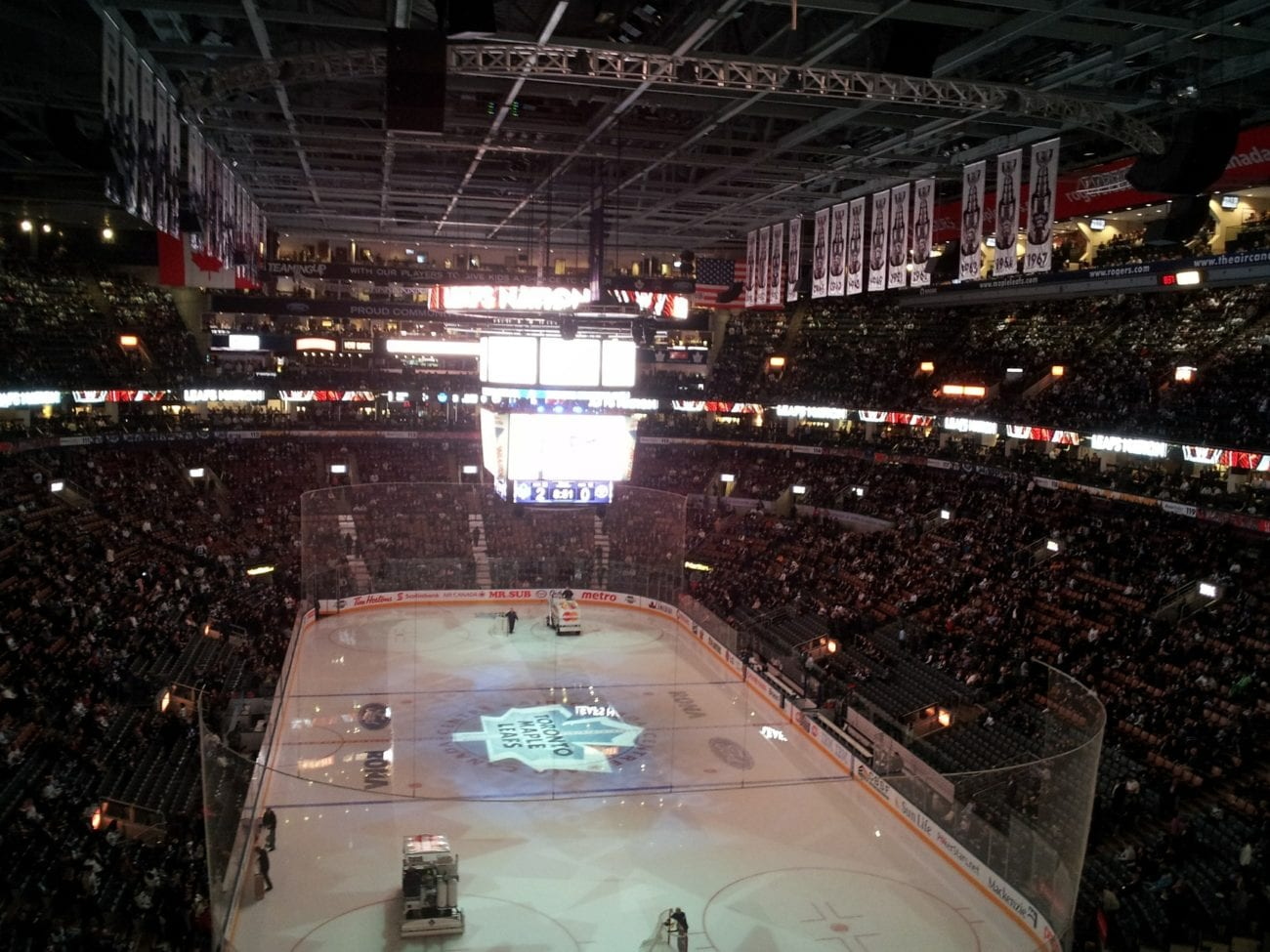 Ice hockey arena NHL Toronto Maple Leaves