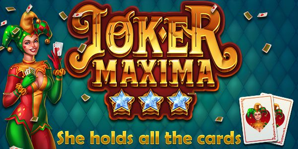 Joker Maxima holds the cards for a high volatility, wild multiplier ride in the second release by new slot studio Lucksome, powered by Blueprint Gaming.