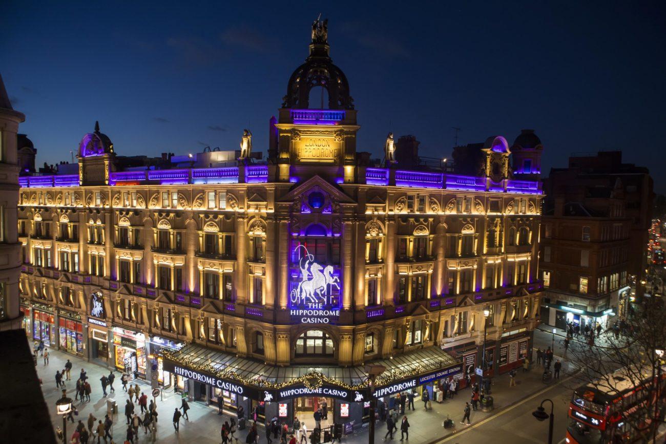 Hippodrome Casino exterior, Leicester Square