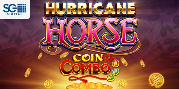 Hurricane Horse Coin Combo by SG Digital