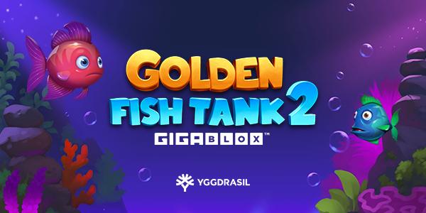 Golden Fish Tank 2 Gigablox by Yggdrasil Gaming